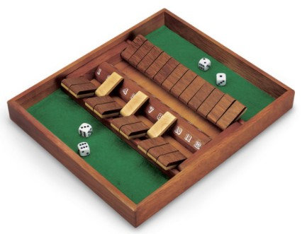 Double-Sided 12-Number Shut the Box