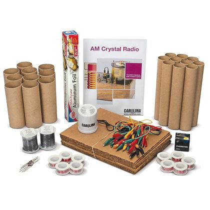 Carolina® AM Crystal Radio Kit