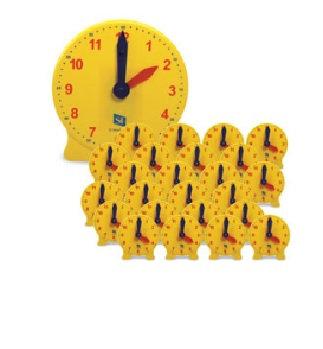 Classroom Clock - Complete Set