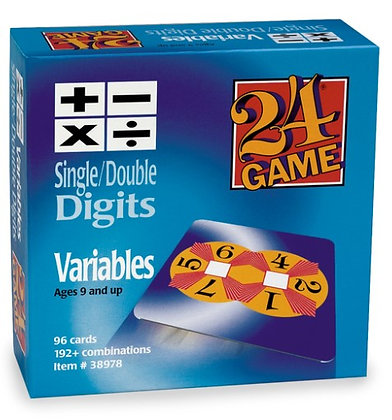 24® Game - Variables Single/Double Digits