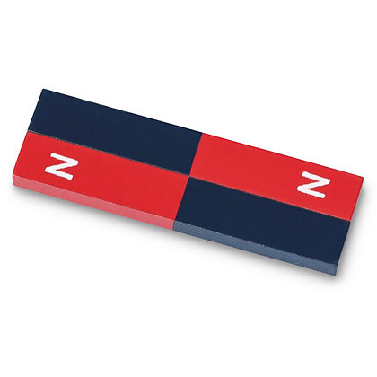 Alnico Rectangular Bar Magnets, a pair