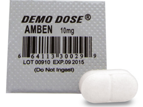 Demo Dose® Oral Medications - Amben - 10 mg, per box of 100