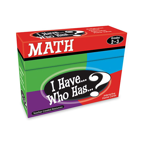 I Have… Who Has…? Math Game - Grades 2-3