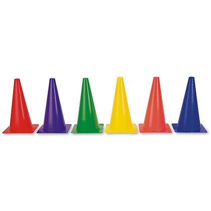 12 in. Plastic Cone Set