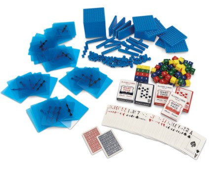 Base 10 with Probability Kit, Grades 6-8 - For NASCO Mobile Math Cart