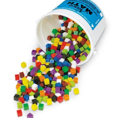 Centimeter Gram Cubes - Set of 500