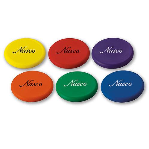 Flying Foam Disc Set, Set of 6 colors