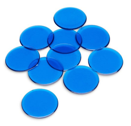 Counting Chips, Blue, Pkg of 350 pieces