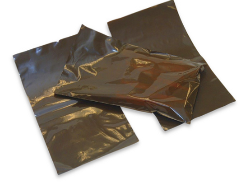 """Amber Open End Bags - 3"""" x 9"""" ( 8 x 23 cm )"""