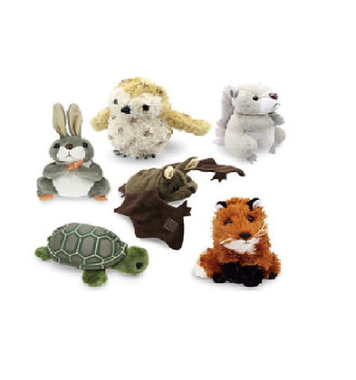 Forest Animal Finger Puppets - Set of 6