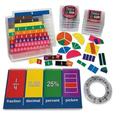 Fraction Kit, Grades 6-8  - For NASCO Mobile Math Cart