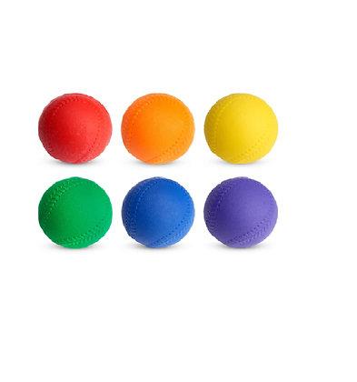 Dura Skin Foam Baseball Set - Soft Skin, Set of 6 colors