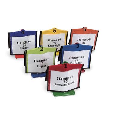 Cone Folders Set, Set of 6 colors