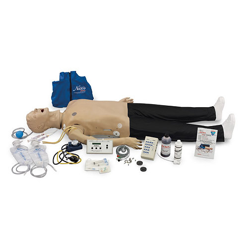 Life/form® Deluxe CRiSis™ Manikin with Interactive ECG Simulator and Advanced
