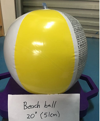 Inflatable Beach Ball, Size: 20 inch