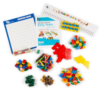 Early Years Individual Learning Math Kit