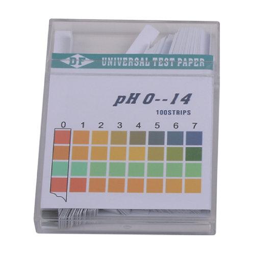 Universal pH Paper, pH 0 - 14