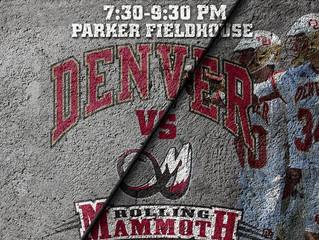 Colorado Rolling Mammoth vs DU