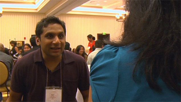 Speed dating at the Patel Matrimonial Convention