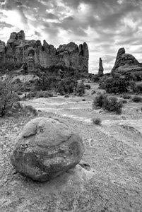 Arches Boulder