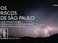 Marcos Cintra convida para o lançamento de seu mais recente livro.