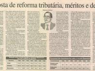 Proposta de reforma tributária, méritos e defeitos