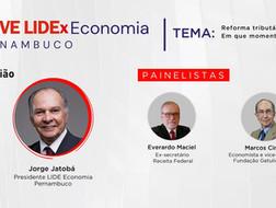 Live: LIDEx Economia Pernambuco