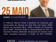 """Palestra Marcos Cintra """"Imposto Único"""""""