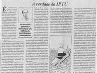 A verdade do IPTU