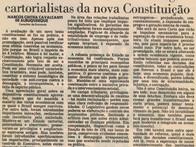 Economia vai resistir aos artigos cartorialistas da nova Constituição