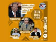 Live: Face News One com Kiyoshi Harada