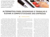 Alternar para desonerar o trabalho e elevar a competitividade das empresas