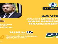 Diálogo PSL - Live 14/05/2020 com Dep. Federal e Vice Presidente do PSL Julian Lemos