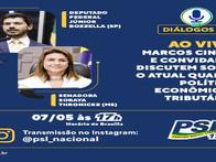 Diálogo PSL - Live 07/05/2020 com Senadora Soraya e Dep. Federal Jr Bozzella