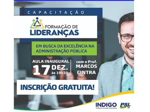 CURSO: Capacitação de Lideranças – Em Busca da Excelência na Administração Pública