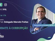 Diálogo PSL - Live 28/05/2020 Marcos Cintra e Dep. Federal Delegado Marcelo Freitas
