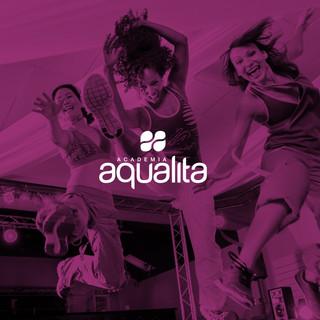 Identidade visual Academia Aqualita