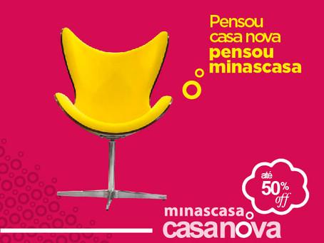 Campanha Minascasa Casa Nova é atração no shopping do lar