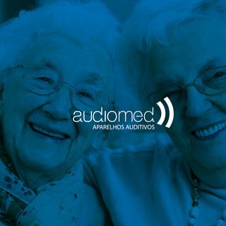 Identidade visual Audiomed Aparelhos Auditivos