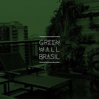 Identidade visual GreenWall Brasil