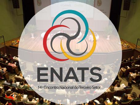 """ENATS deste ano tem como tema: """"Alianças intersetoriais: conectando pessoas""""."""