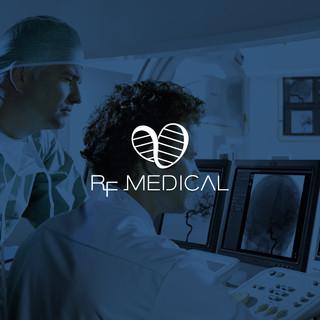 Identidade visual RF Medical