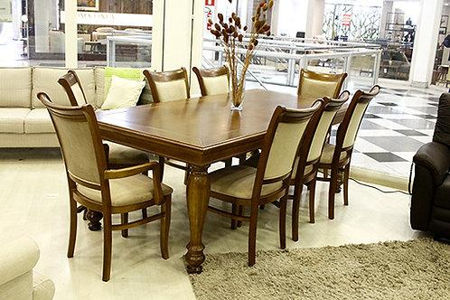 House - Sala de jantar clássica 8 lugares