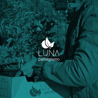 Identidade visual Luna Paisagismo