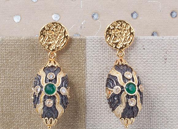 Victorian Dream Oval Emerald