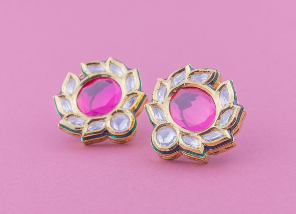 Rani Pansy Earrings