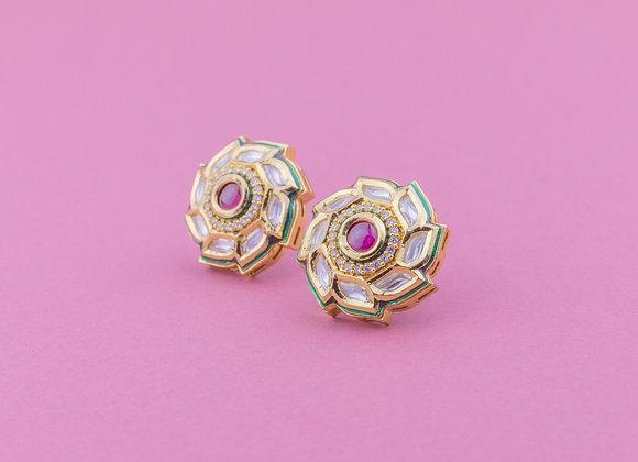 Rani Gulab Earrings