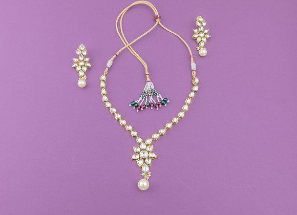 Kundan Pearls Necklace