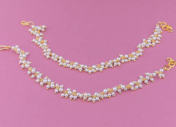 Pearl Ear Chains