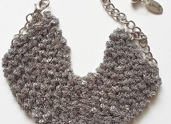 Mish Mesh Bracelet - Silver